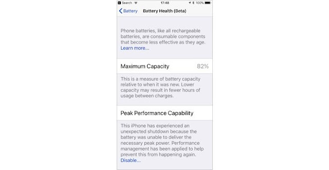 On restarting, you will see a notification informing you that This iPhone has experienced an unexpected shutdown .