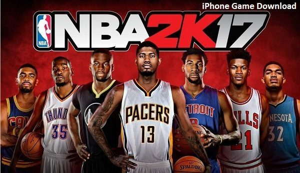 NBA 2K17 Download IPA Game for iPhone iOS
