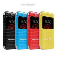 เคส-iPhone-6-Plus-รุ่น-เคส-iPhone-6-Plus-และ-6s-Plus-สวยมาก-ฝาพับหนังแก้วของแท้จาก-TOTU-รับสายได้โดยไม่ต้องเปิดฝาเคส