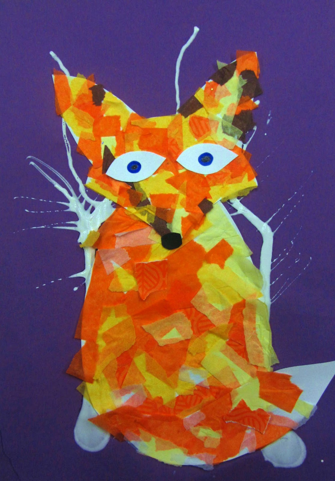 Adaptive Art Fox In The Snow