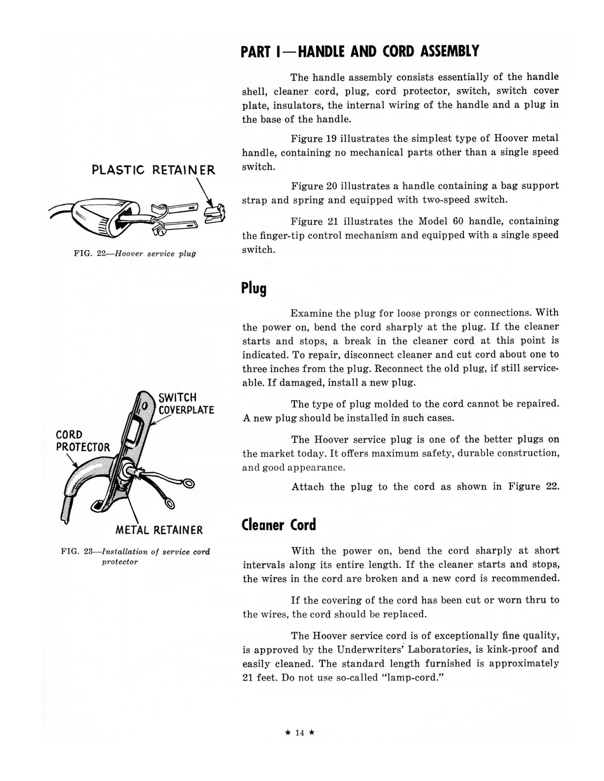 1957 Hoover Us Service Manual Vacuum Wiring Whilst It Is An American Document The Machines Were Sold In Uk Under Different Names And Information Invaluable For Older Vacuums