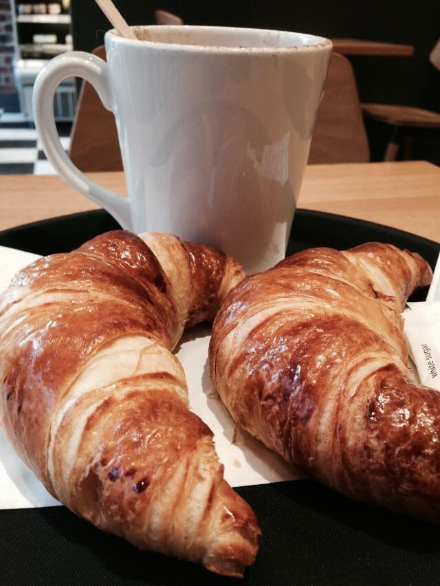 Theres No Better Way To Start Your Day Its True Greggs Croissants And A Cappuccino Most Morning For Me Im Not Even A Huge Fan Of Pastry