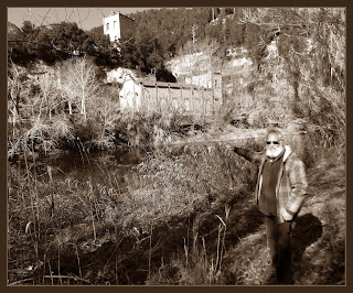 PONT DE VILOMARA-PAISATGES-EXCURSIONS-NATURA-FABRIQUES-ELECTRICITAT-HISTORIA-MARCETES-FOTOS-PINTOR-ERNEST DESCALS-