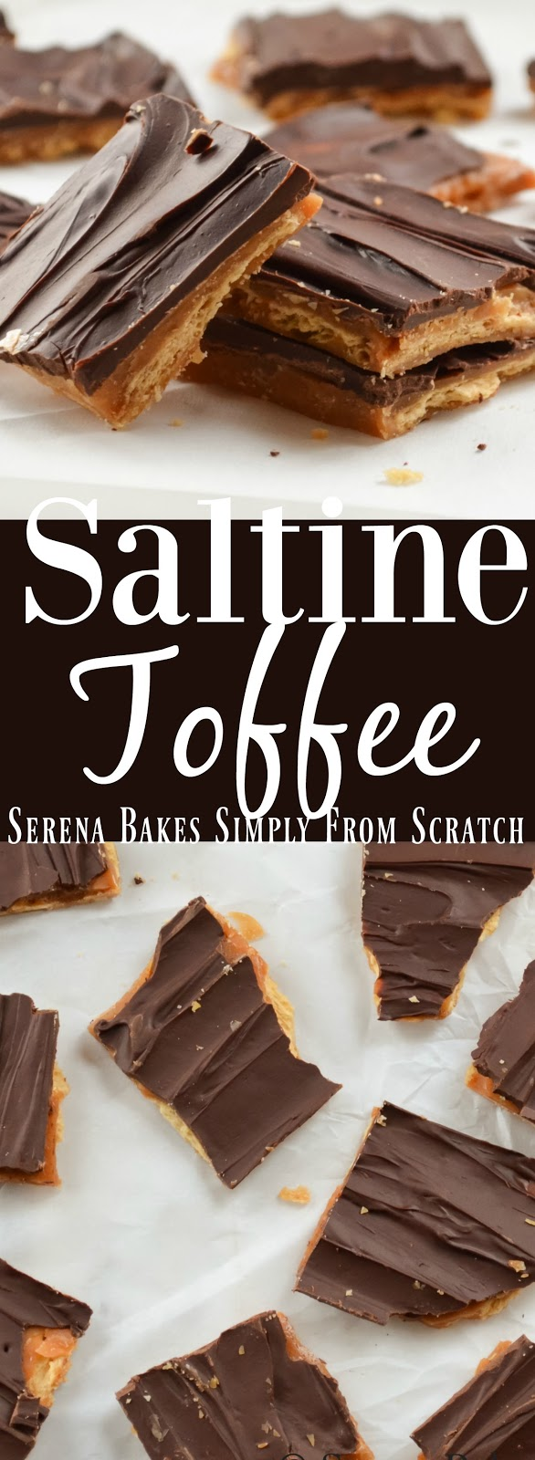 Saltine Toffee is a favorite candy to make for Christmas and over the holidays!