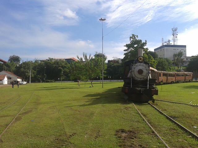 Museu da Estrada de Ferro Madeira-Mamoré.