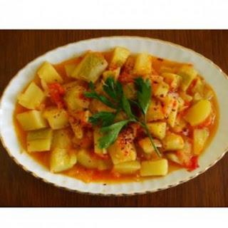 Zucchini Stew (Zeytinyagli Kabak Yemegi)