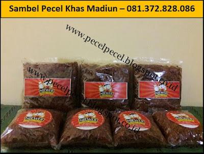 Jasa Pembuatan Sambel Pecel Khas Madiun – 081.372.828.086