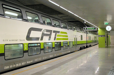 Viena City Airport Train (CAT)