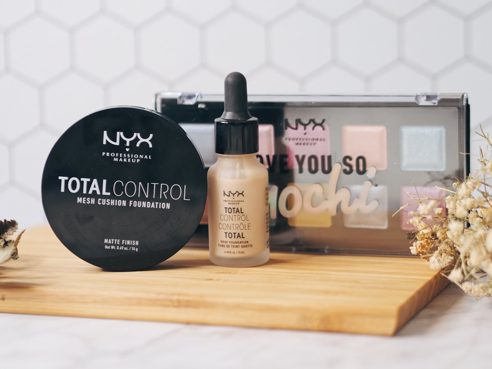 Total Control Mesh Cushion Foundation Drop Foundation From Nyx