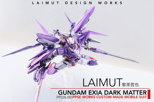 Custom Build: MG 1/100 Gundam Exia Dark Matter - Gundam ...