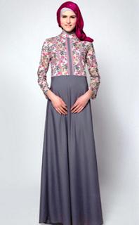 gamis-sifon-kombinasi-batik