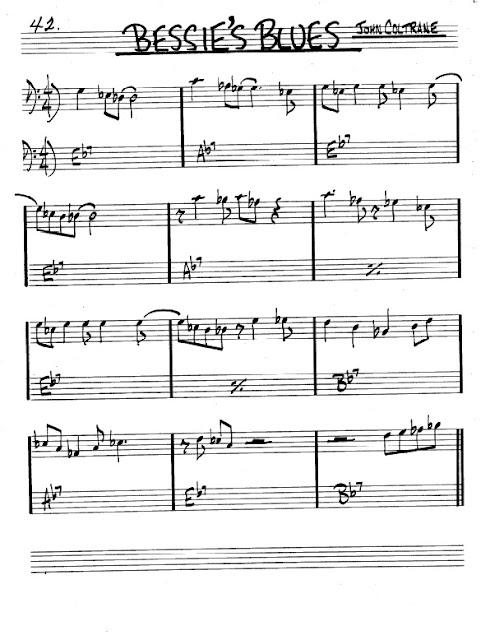Partitura Violonchelo John Coltrane