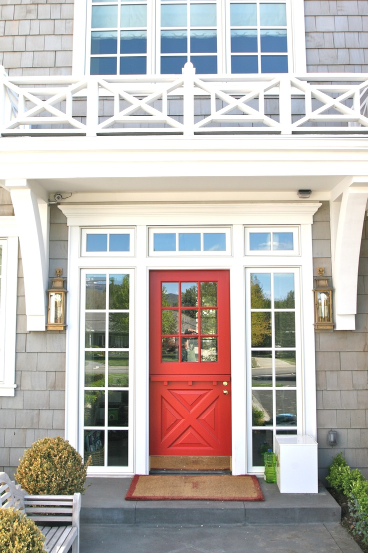 Coral Front Door Julia Ryan