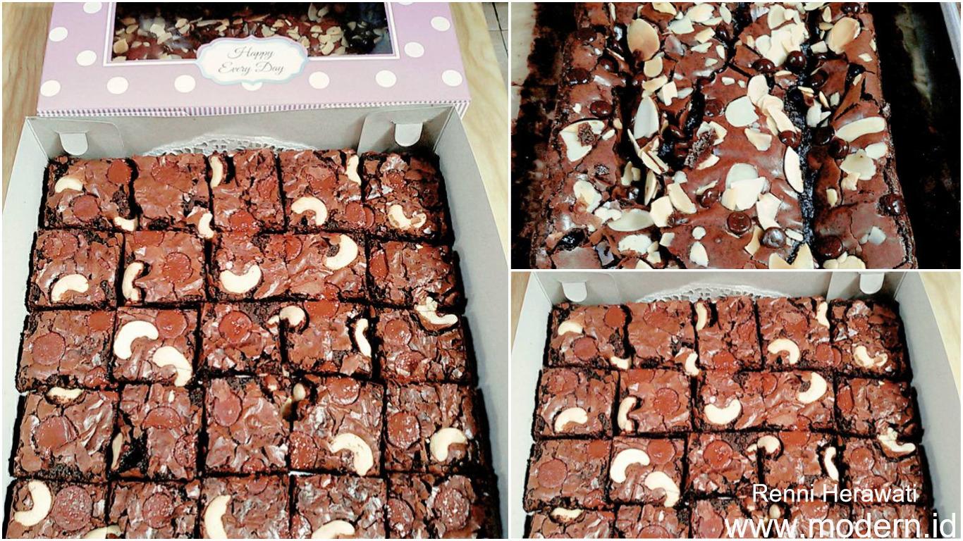 resep brownies panggang spesial modern id