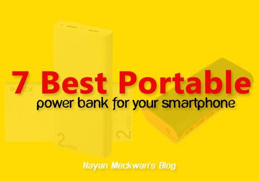 7 Best Portable Power bank for your Smartphone July 2017