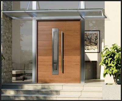 Model Pintu Utama Rumah Modern