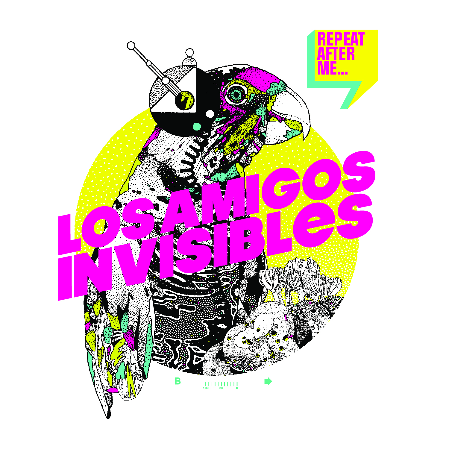 Los Amigos Invisibles - Repeat After Me (2013)