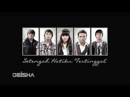 kunci gitar geisha - setengah hatiku tertinggal