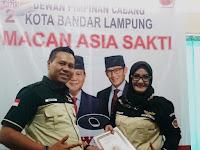 Pengukuhan MACAN ASIA SAKTI Kota Bandar Lampung