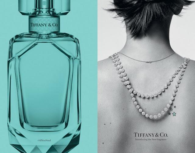 Reklama perfum Tiffany&Co.