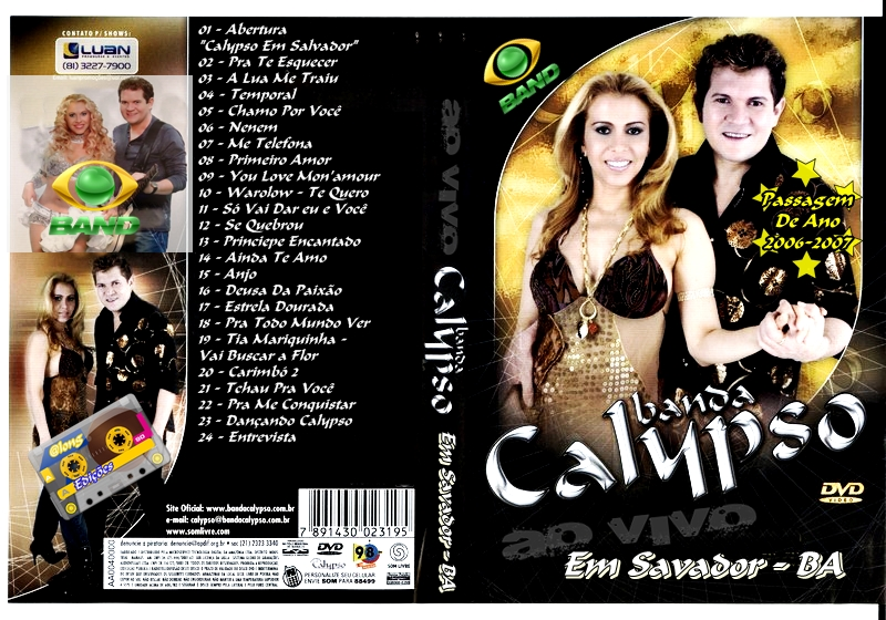 cd da banda calypso 2006