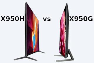 Sony X950H vs X950G