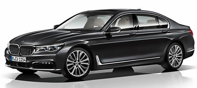 2016 BMW 7 Series Sedan Long Wheelbase