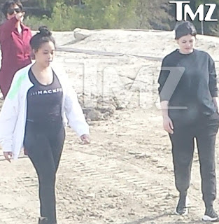 Kylie Jenner spotted in public for the first time since pregnancy reports