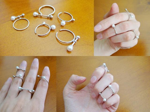 pack 5 anillos horunouta