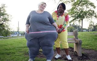 Απίστευτη η τύπισσα: Βγάζει 2.000 δολάρια το μήνα λόγω... του βάρους της! [photo]