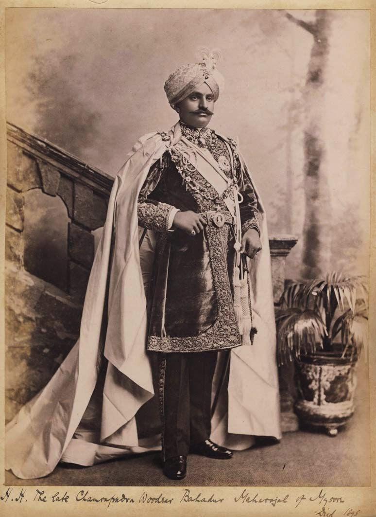 Maharaja Chamarajendra Wadiyar X of Mysore - c1890's