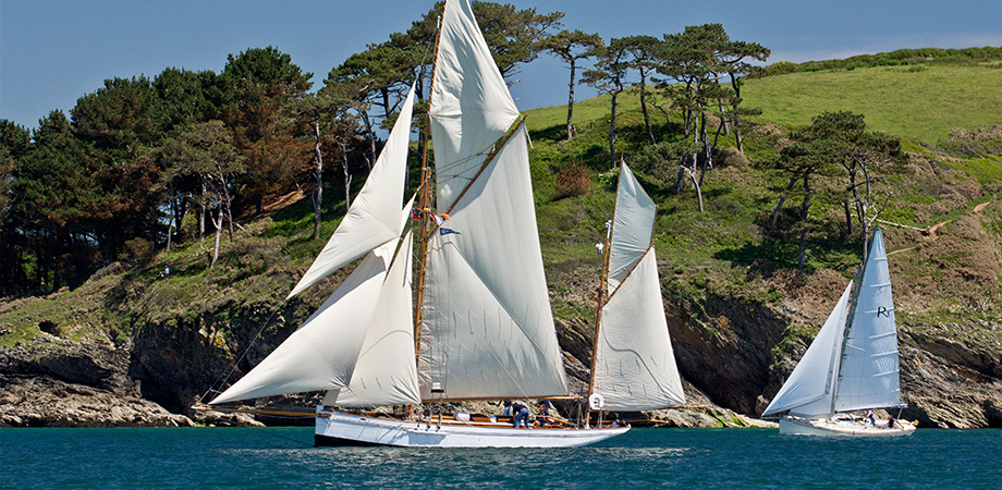 Classic ships in Falmouth