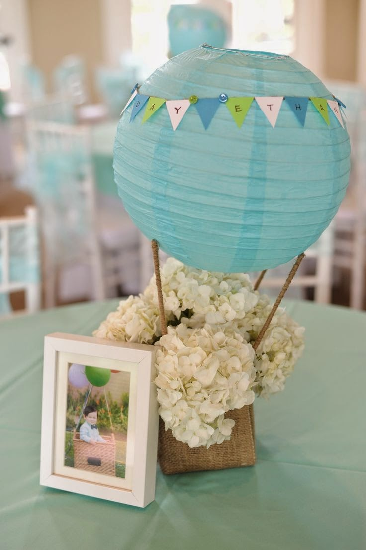 7 centos de mesa para bodas con globos for Farolillos de decoracion