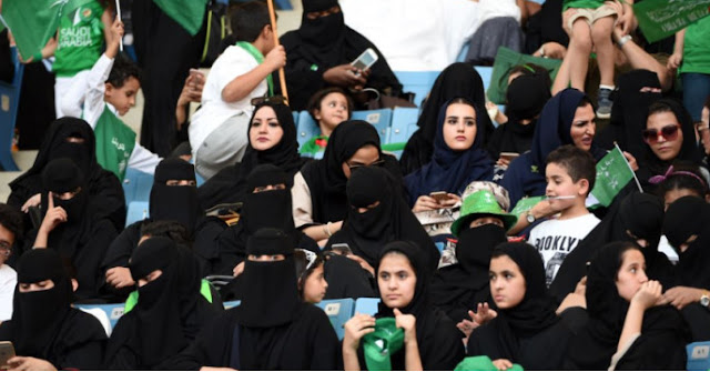 wanita saudi