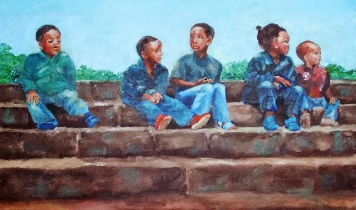 Южноафриканская художница. Elizabeth Pearson