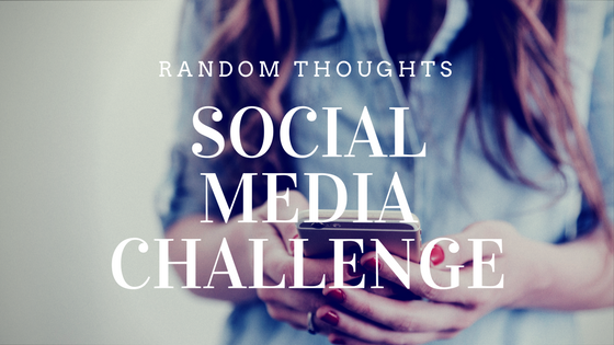 Social Media Challenge - Try Instagram for a month instead of Facebook