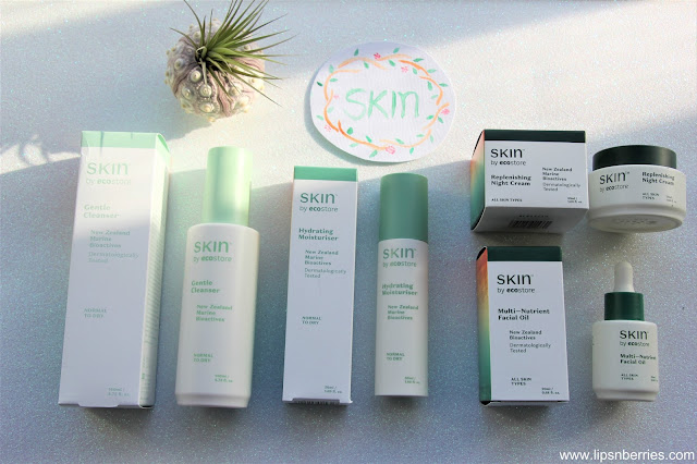 SKIN by ecostore skincare review