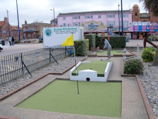 Arnold Palmer Putting Crazy Golf course in Great Yarmouth, Norfolk