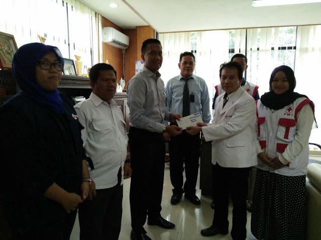 PMI OKI Salurkan Bantuan Gempah Aceh