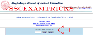 12TH CLASS RESULT 2015