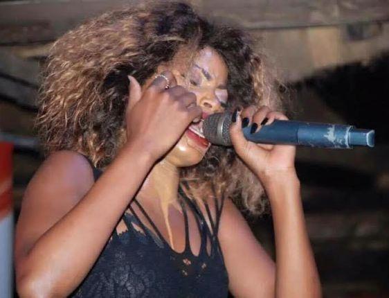Sheebah Karungi makeup washed by sweat