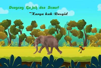 Dongeng gajah dan semut