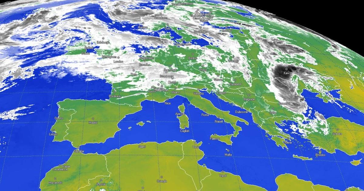 Cartina Meteorologica Dell Italia.Migliori Siti Meteo Con Previsioni Del Tempo Dal Satellite E Temperature Navigaweb Net