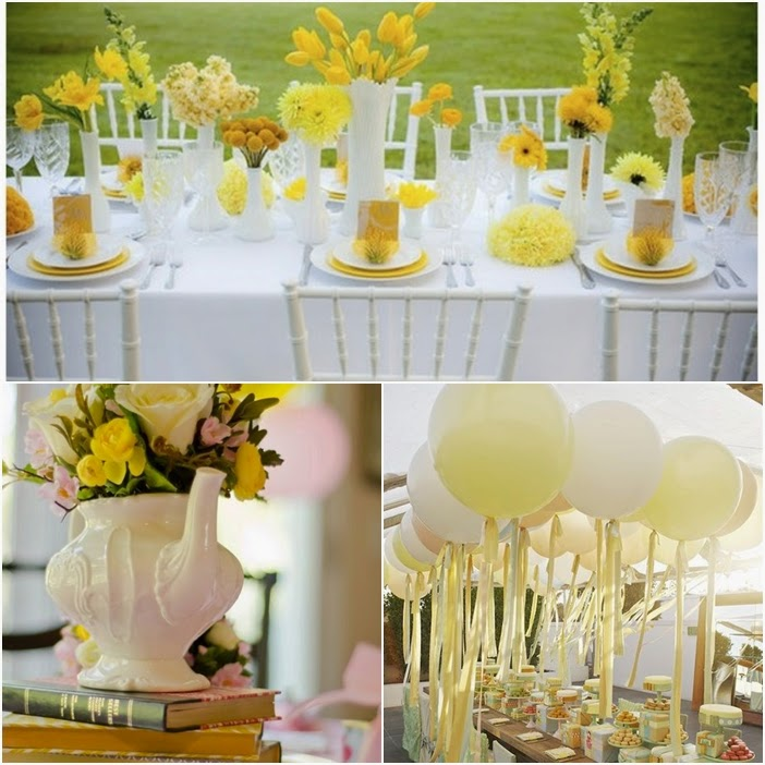 Tea Party Sweet Fifteen Theme