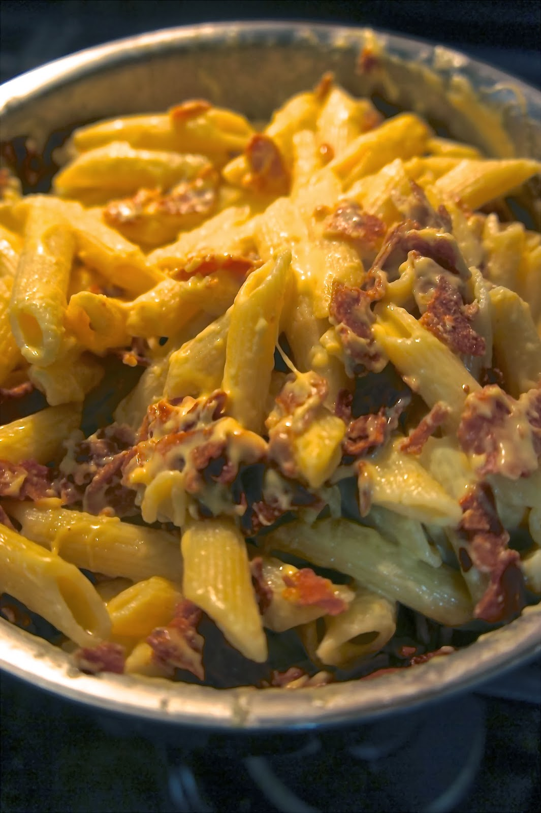 Savory Sweet and Satisfying: Cheese and Bacon Pasta