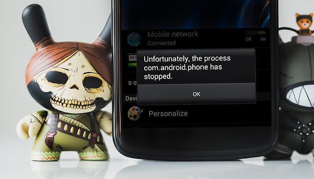 Cara memperbaiki kesalahan 'Unfortunately app has stopped' errors
