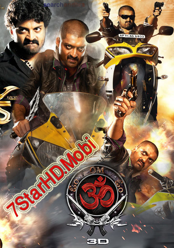 Om 3D (2013) Hindi Dubbed 720p HDRip x264 900MB