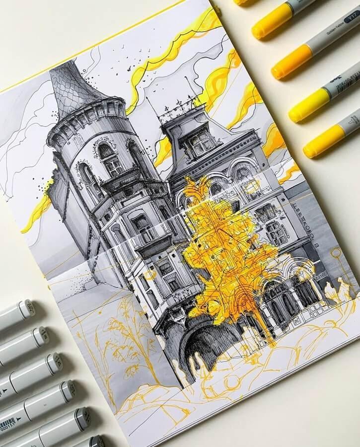 01-Yuliia-Zvetkova-Architectural-Drawings-www-designstack-co