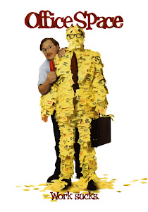 Poster Of Hollywood Film Office Space (1999) In 300MB Compressed Size PC Movie Free Download At worldfree4u.com