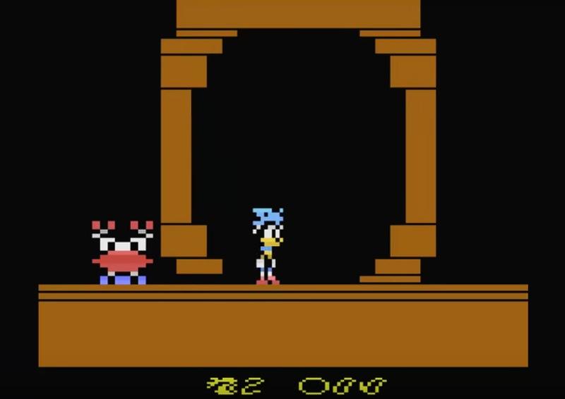 Sonic on the Atari 2600 - YouTube
